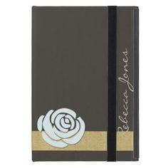 #trendy - #Elegent Floral Glamour Monogram iPad Case