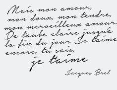 Terra Nullius, cet-air-de-rien:     Jacques Brel, La chanson des...