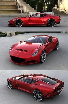 Car, Ferrari 612 GTO