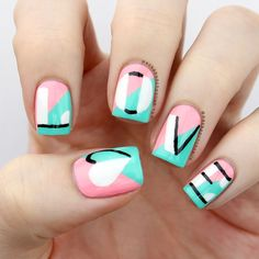 PackAPunchPolish: Love Letter Nail Art with Tutorial