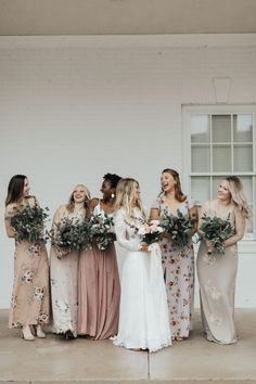 Pink and beige Bridesmaid Dress Inspiration Grace Loves Lace wedding dress Blush Pink Bridesmaids, Wedding Bridesmaids, Bridesmaid Dresses, Wedding Dresses, Bridal Shower Cards, Luxury Wedding Invitations, Creative Wedding Photography, Grace Loves Lace, Lace Wedding