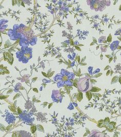 Home Decor Print Fabric-Waverly Lavaliere/Larkspur