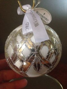 Waterford Holiday Heirlooms Holiday Starburst Ball Christmas