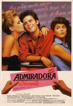 Secret admirer movie poster (Spain).