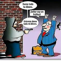 Dame tu dinero! #Viñeta #Humor
