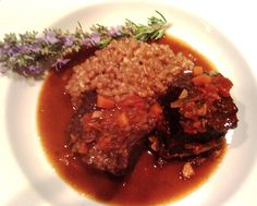 Try these Slow-Braised Beef Short Ribs with Rosemary Risotto for tasty fall off the bone goodness. How you cook them depends on how much time you have.