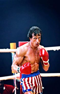 Sylvester Stallone as Rocky Balboa Rocky Sylvester Stallone, Rocky Stallone, Rocky Balboa Poster, Rocky Balboa Quotes, Rocky Poster, Rocky Series, Rocky Film, Rocky 3, Iconic Movies