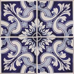 Hand Painted Portuguese Tiles | TMP12002 Portuguese Tiles - Repetitive Patternswww.euromkii ...
