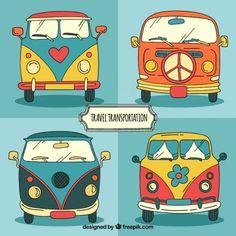 Vector Car Result of images of volkswagen california comics drawings Volkswagen Bus, Combi Hippie, Volkswagen California, Vw Minibus, Wal Art, Hippie Art, Arte Pop, Rock Art, Painted Rocks