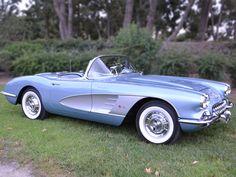 Corvette convertible. #Classic #Style #Design #Beauty #Cool