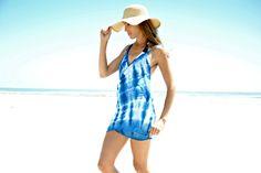 Trash To Couture: DIY beach dress. No sew