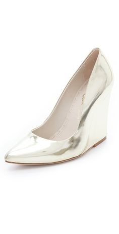 Mirrored wedges.