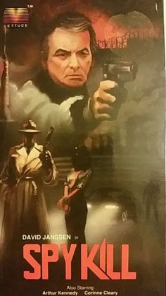 Spy Kill (VHS, 1987) DAVID JANSSEN NOT ON DVD OOP LETTUCE ENTERTAIN YOU in DVDs & Movies,VHS Tapes, | eBay