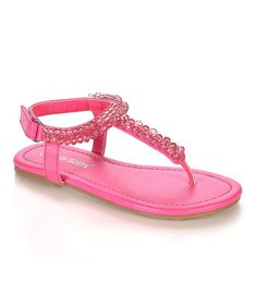This Fuchsia Noke Sandal is perfect! #zulilyfinds