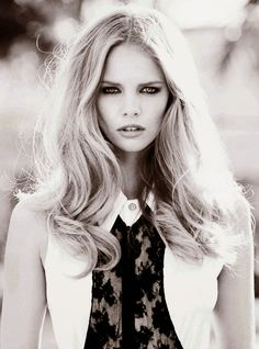 Fashion Show: 70'S: Marloes Horst By Hilary Walsh For Glamour Sp...