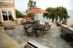 Custom Patio on Lake Erie