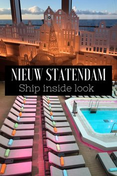 Holland America's Nieuw Statendam, a ship has breathtaking ! Holland Cruise, Holland America Cruises, Holland America Line, Panama Cruise, American Cruises, Best Cruise Deals, Cruise Ship Reviews, Cruise Critic, Amish Recipes