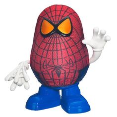 #amazon Mr. Potato Head the Amazing Spider-Man Spud Toy - $5.02 (save 61%) #hasbro #toy #actionfigures
