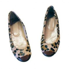 Casual Women's Flats With Color Matching Leoaprd Patterns Design