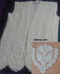 Tig Yelek Modelleri Anlatimli Crochet New Vest Models 1 images and pictures Crochet Motif, Crochet Stitches, Crochet Top, Prom Dress Shopping, Online Dress Shopping, Baby Knitting Patterns, Crochet Patterns, Scoodie, Cocktail Gowns