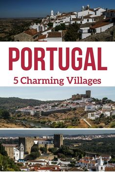 Discover, in photos, 5 of the most charming villages in Portugal - Obidos, Marvao, Monsaraz, Monsanto and Mertola. Located on hilltops they offer crazy structures or inspiring views... Have a look! | Portugal Travel | Portugal things to do | Portugal Travel Guide | Portugal Itinerary | Portugal Photography