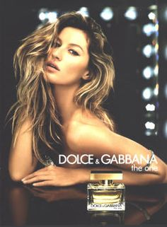 The One by Dolce & Gabanna with Gisele Bundchen (2006).