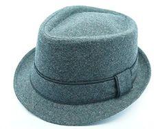 Bruno Capelo Headwear Wool Blend Fedora Hat FD-123/5 (Medium, Gray) Bruno Capelo http://www.amazon.com/dp/B011SFN8X6/ref=cm_sw_r_pi_dp_RlyTvb1SVW4SE