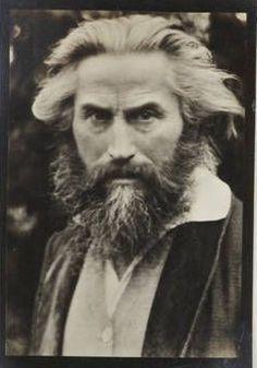 Portrait of Fidus  photograph  circa 1928