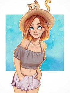 Фиби (на каникулах)