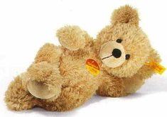 Steiff EAN 111372 Fynn Teddy Bear Beige small