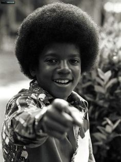 Young Michael Jackson realizing that it's really you.