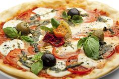 Pizza Saudável (base polvilho doce e quark) #Nhammm