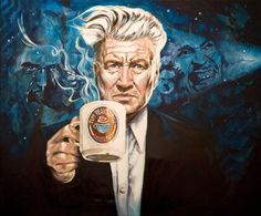 David Lynch & coffee