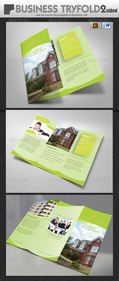 Real Estate Tri-Fold Brochure Design   #GraphicRiver        Real Estate Tri-Fold Brochure Design fully editable in illustrator cs6 and Microsoft word 2010. Source: Ai and Eps and .Doc Size: 297 by 210 mm Bleed: 3mm Images not included Fonts Link Nexa fontfabric /nexa-free-font/     Created: 4October13 GraphicsFilesIncluded: VectorEPS #AIIllustrator Layered: Yes MinimumAdobeCSVersion: CS5 PrintDimensions: 297x210 Tags: propertytrifold #real-estate