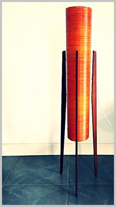 Original 60's Rocket Lamp by mid20c who are exhibiting at the Mid Century Vintage Fair at Bedruthan Hotel & Spa: ow.ly/pUuzW