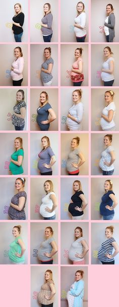 Creative Belly Pictures! need to make collage like this with my belly pics