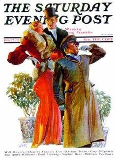 Saturday Evening Post - 1932-02-27: Taxi! (John LaGatta)