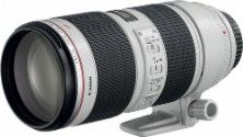 Canon - EF 70-200mm f/2.8L IS II USM Telephoto Zoom Lens - White - Angle