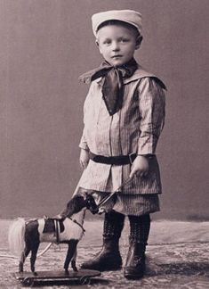 children with new toys dutch collection black and white photos - Google Search