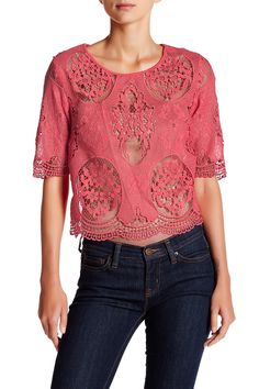 Louisa Lace Blouse by Tart on @HauteLook