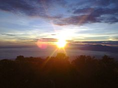Sunrise in Lawu, Indonesia