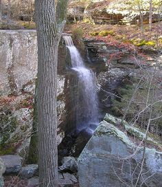 Burden Falls in Shawnee National Forest. Southern Ill
