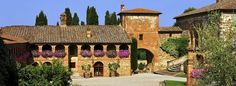 What a beautiful Tuscan hotel...like staying in your own village!