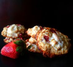 Strawberry Shortcake Cookies I want to try these!