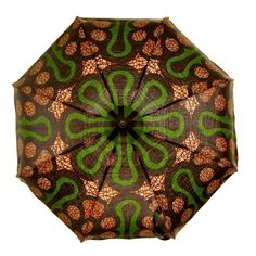 Waxed African textile umbrella - Marisols love it! Air Balloon, Balloons, Umbrellas Parasols, African Inspired Fashion, African Textiles, Yarn Bombing, Shades Of Green, Eye Candy, Wax