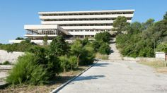 The Grand Resort Hotel in Kupari, Croatia bet it was grand in it's day