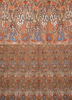 Persian Textiles - TextileAsArt.com, Fine Antique Textiles and Antique Textile Information - Silk Safavi Textile