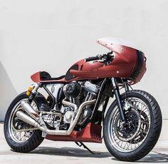Harley Davidson Sportster / Cafe Racer #harleydavidsonsporster