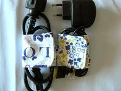 ILATELA: Cómo hacer un recogecables con dos retales