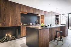 Ikea, Wooden Kitchen, Kitchen Furniture, Cool Kitchens, Interior Decorating, Kitchen Cabinets, Table, House, Inspiration